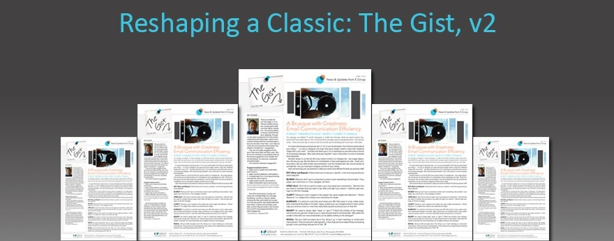 Reshaping a Classic: The Gist, v2