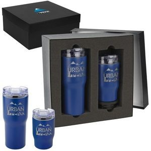Urban Peak� Trail Gift Set (20oz/3-in-1 Tumbler)